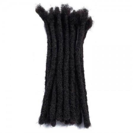 medium size human hair dreadlock extensions