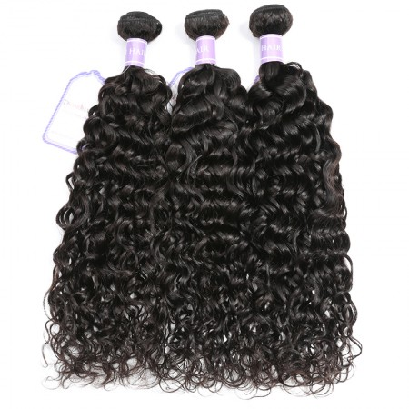 Natural Wave Virgin human Hair Weaving