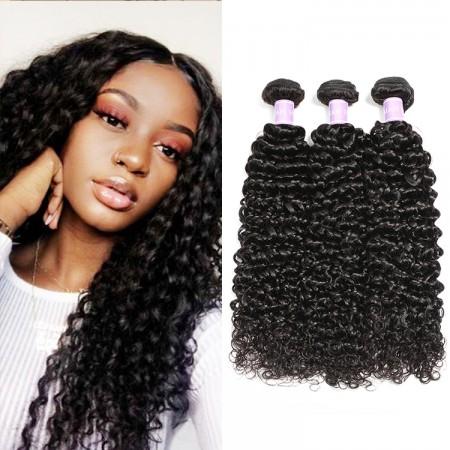 DSoar Hair Virgin Human Hair 3pcs/pack Virgin Curly Wave Hair