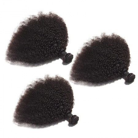 DSoar Hair Afro Kinky Curly Hair Bundles 3Pcs/Lot Virgin Hair Weave