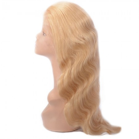 Body Wave 613 Blonde Wig Human Hair Lace Front Wigs With Baby Hair