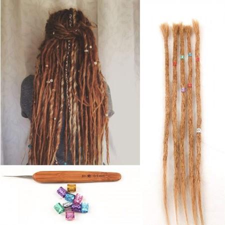 colored dreads