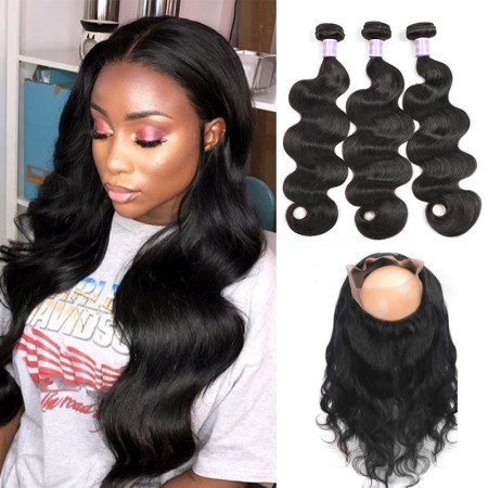360 frontal body wave
