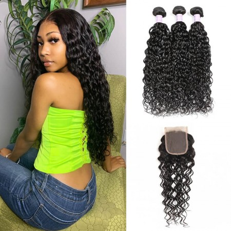 natural wave sew in
