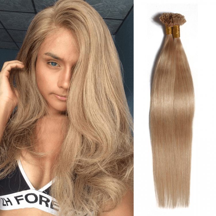 Cheap Straight Brazilian 50gpack Human U Tip Virgin Hair Extensions