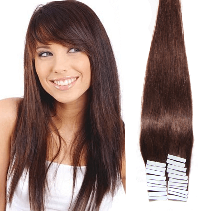 New Arrivial Peruvian Tape In Extensions Straight Virgin Human Pu