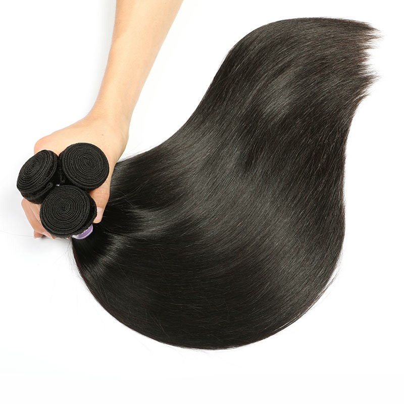 High Quality Malaysian Straight Virgin Hair Bundles With