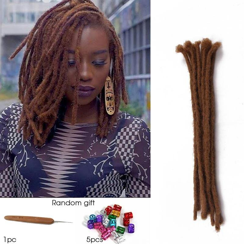 Dsoar 15 Inch Dreadlock Crochet Hair Synthetic Dreads Hairstyles