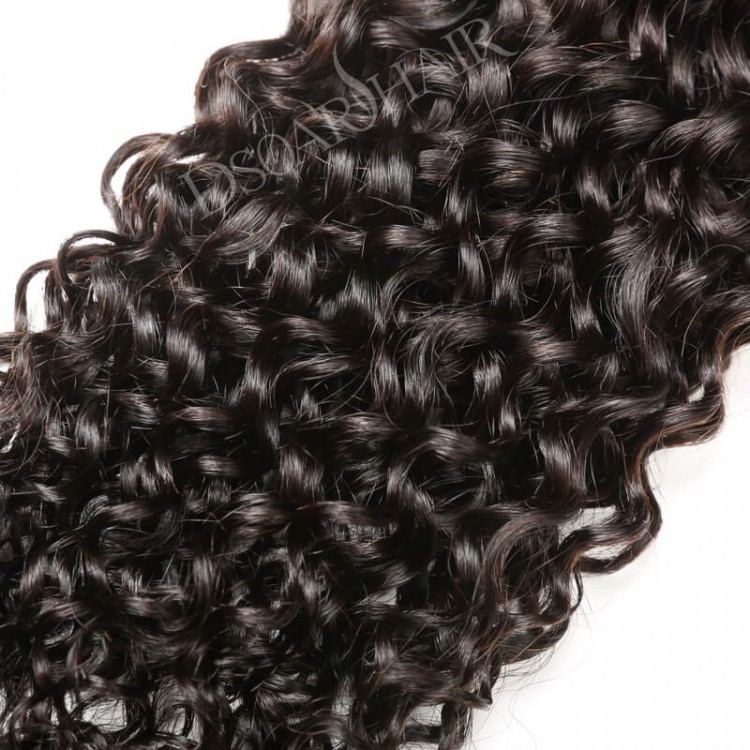 Dsoar Indian Remy Human Hair 3pcspack Curly Hair Weave Sew In