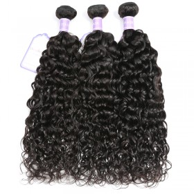 DSoar Hair 3 Bundles Natural Wave Virgin Hair Weaving Cheap Human Hair