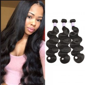 3pcs/pack DSoar Hair Peruvian Virgin Hair Body Wave