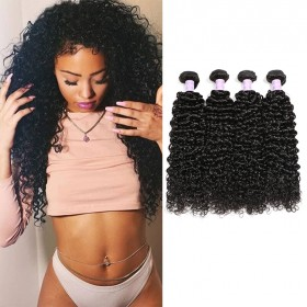 DSoar Hair Brazilian Curly Virgin Hair 4pcs/pack