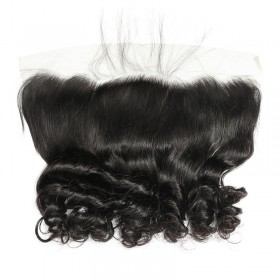 "DSoar Hair 4"" x 13""  Loose Wave Lace Frontal Closure Free Part 1 Piece"