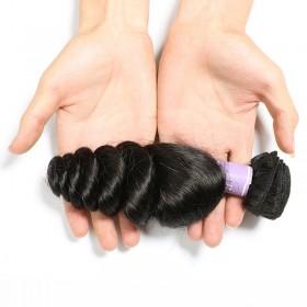 DSoar Hair Loose Wave Hair Extensions Unprocessed Human Virgin Hair 1 Bundle
