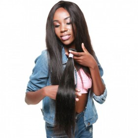 DSoar Hair 1 Piece Straight Human Virgin Hair