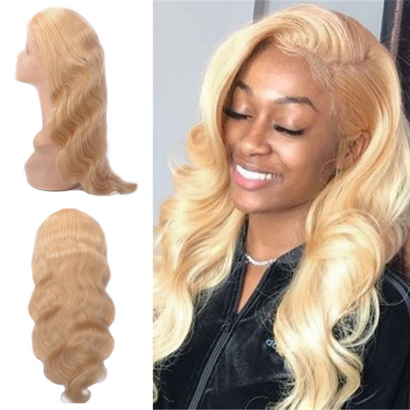 Body Wave 613 Blonde Wig Human Hair Lace Front Wig