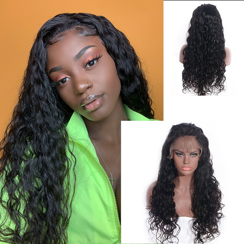 DSoar Hair Loose Body Wave Virgin Human Hair Full Lace Wigs