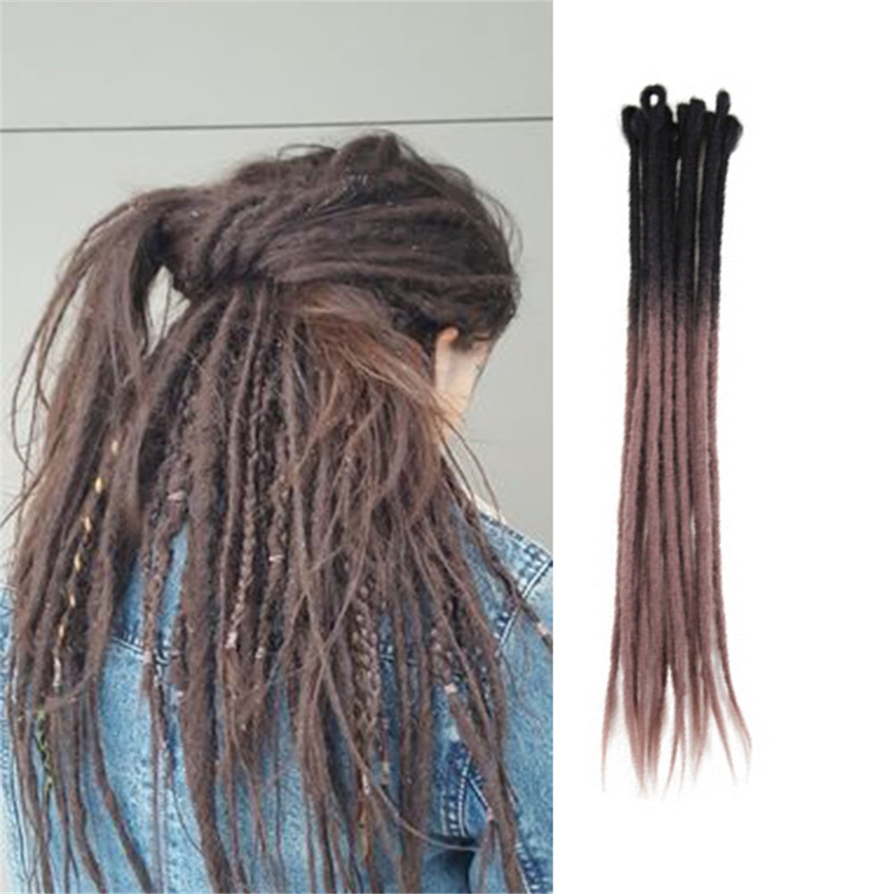 2- 33#  Crochet Braids Dreadlock Extensions