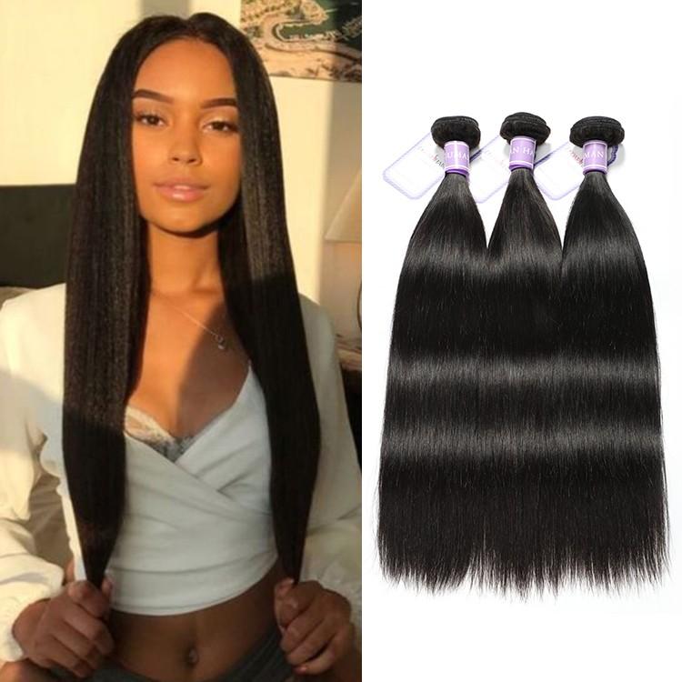 3 Bundles DSoar Hair Remy Straight Hair Best Virgin Human
