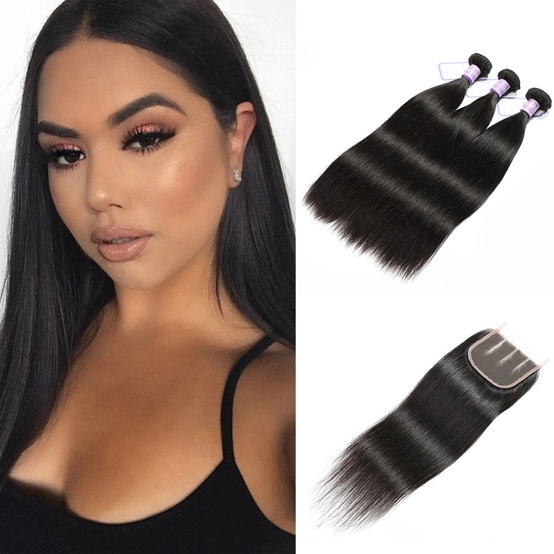 3 Bundles Malaysian Virgin Hair Straight