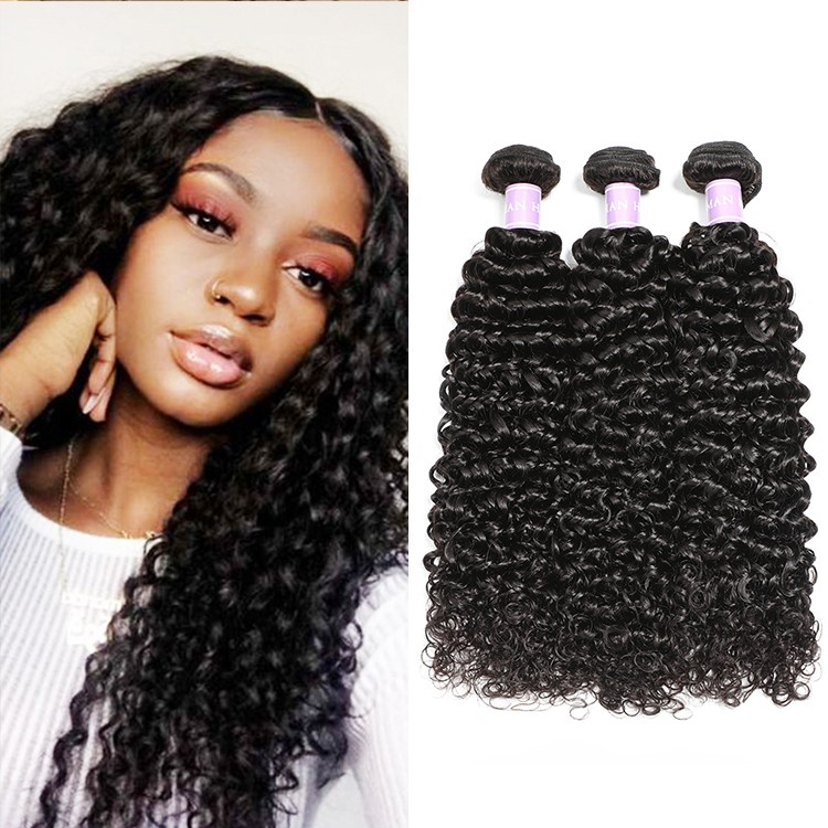 DSoar Hair Virgin Human Hair 3pcs/pack Virgin Curly Wave Hair