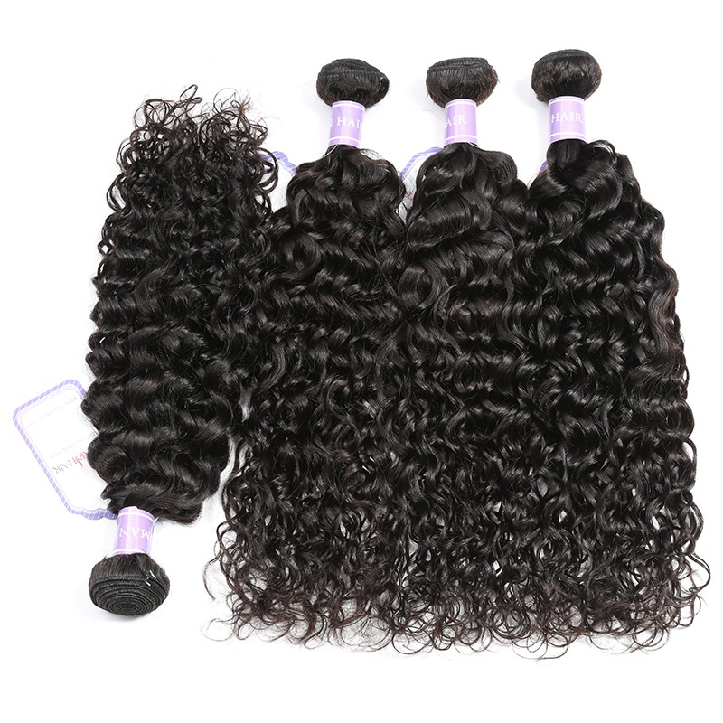 4 natural wave weave