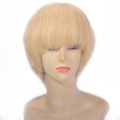bob wig with bangs