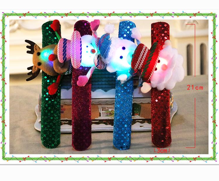 DSoar Christmas LED Ornament Bracelet