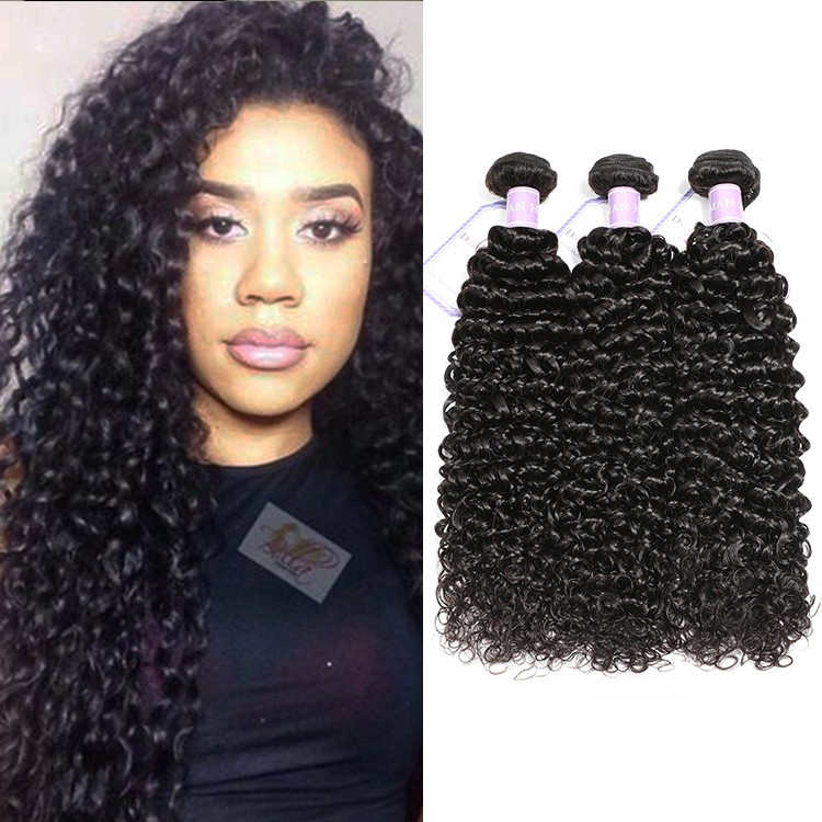 Indian Curly Weave Human Hair