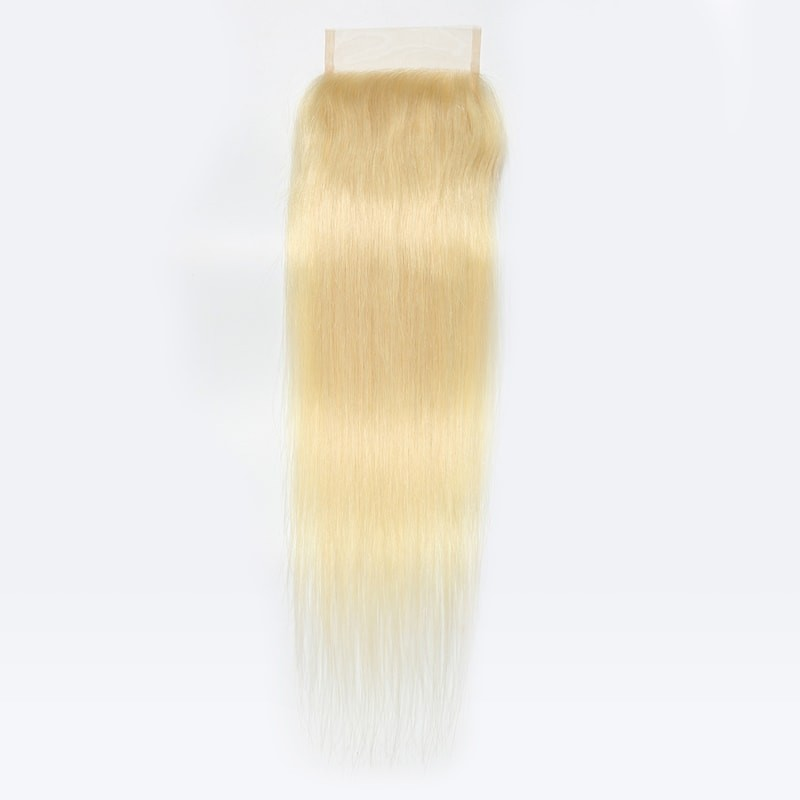 613 Blonde Straight Closure