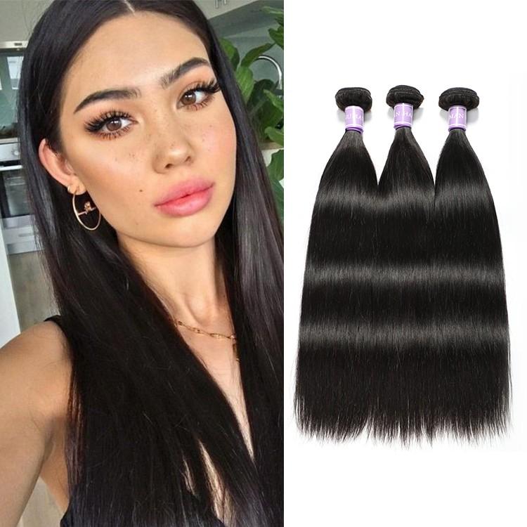Indian virgin human hair 3 bundles