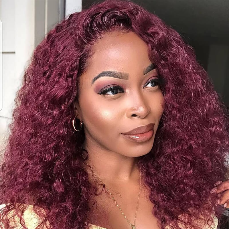 99j curly wig