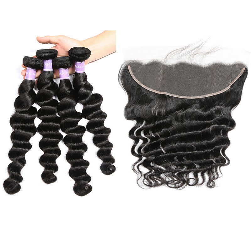 loose deep wave with frontal
