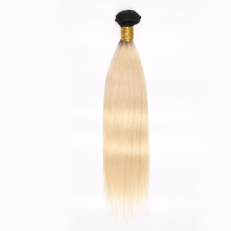 Ombre Blonde Human Hair Weave