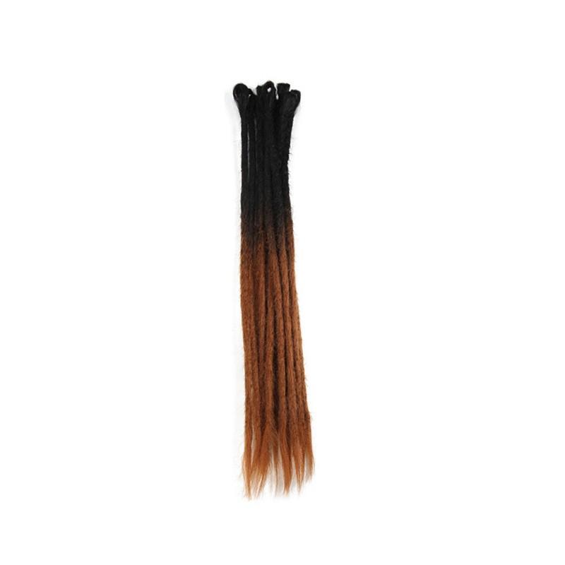 Synthetic Handmade Dreadlocks Hair Extensions