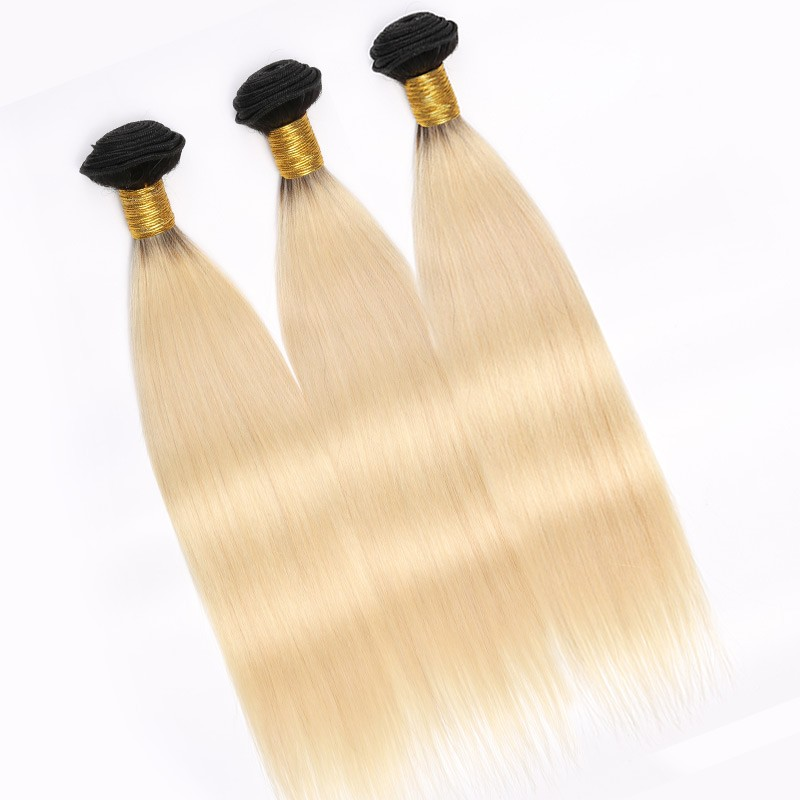 Ombre Blonde Hair 3 Bundle Deals