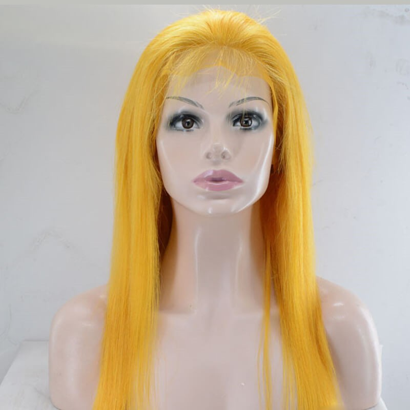 Best Pre Plucked Full Lace Wigs Straight Human Hair
