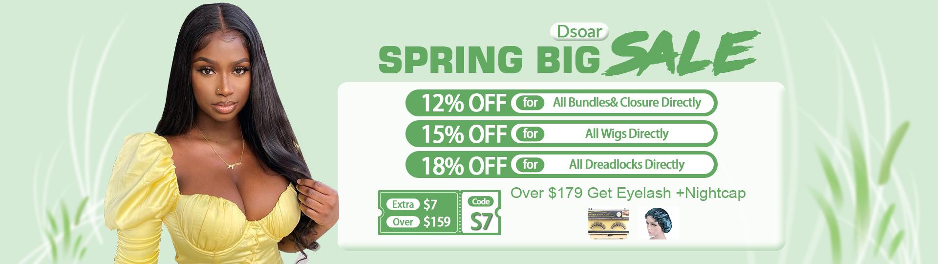 Dsoar Spring Big Sale