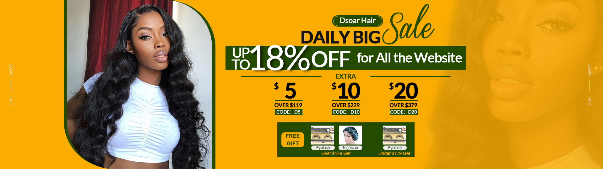 Dsoar Hair Daily Big Sale