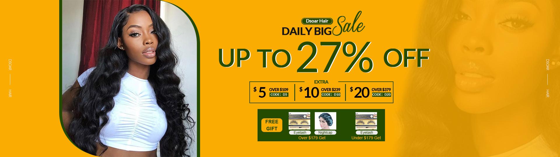 Dsoar Hair Daily Big Sale