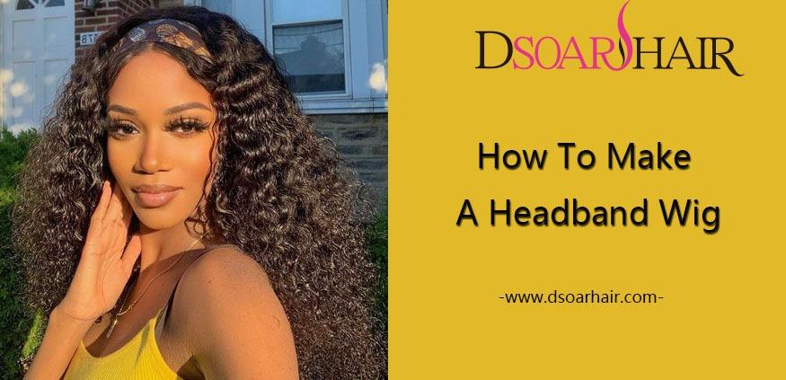 how to make a headband wig
