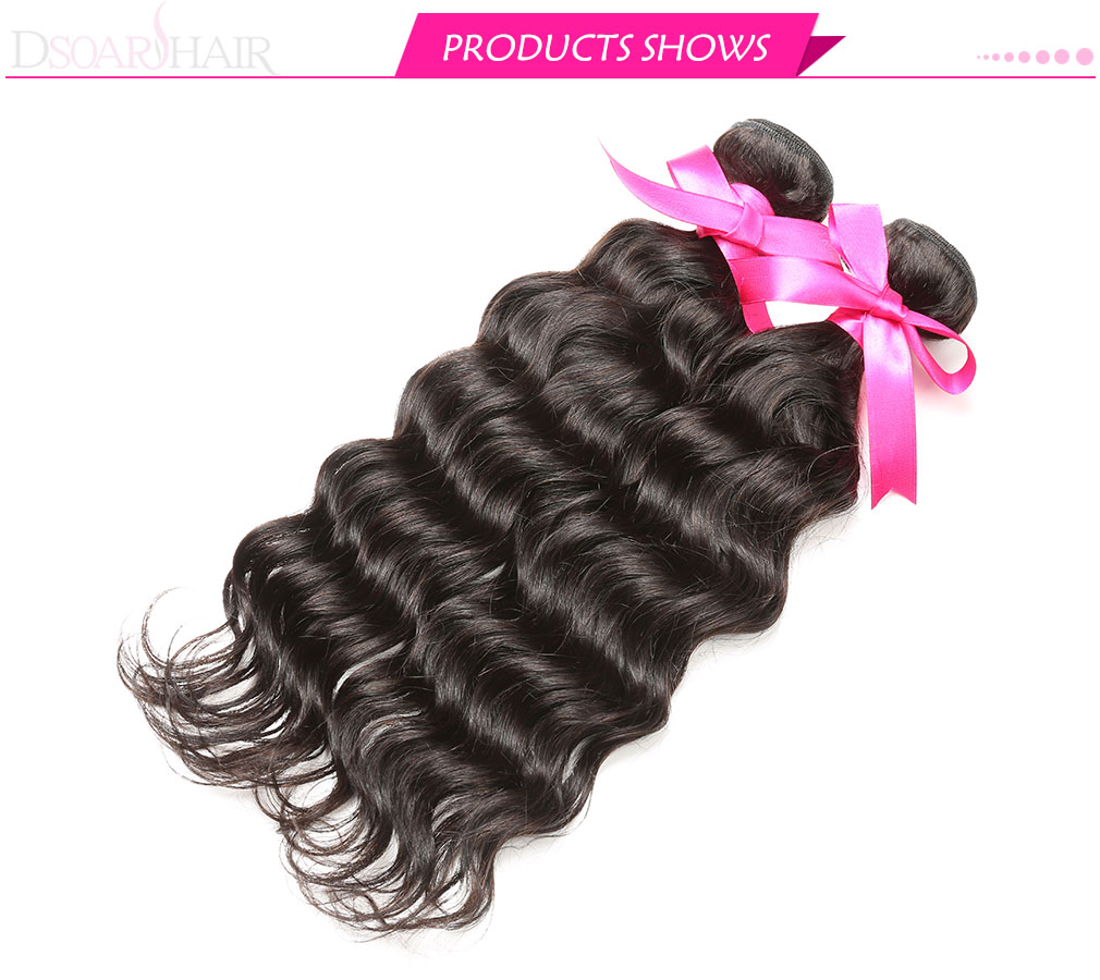 Malaysian remy natural wave hair