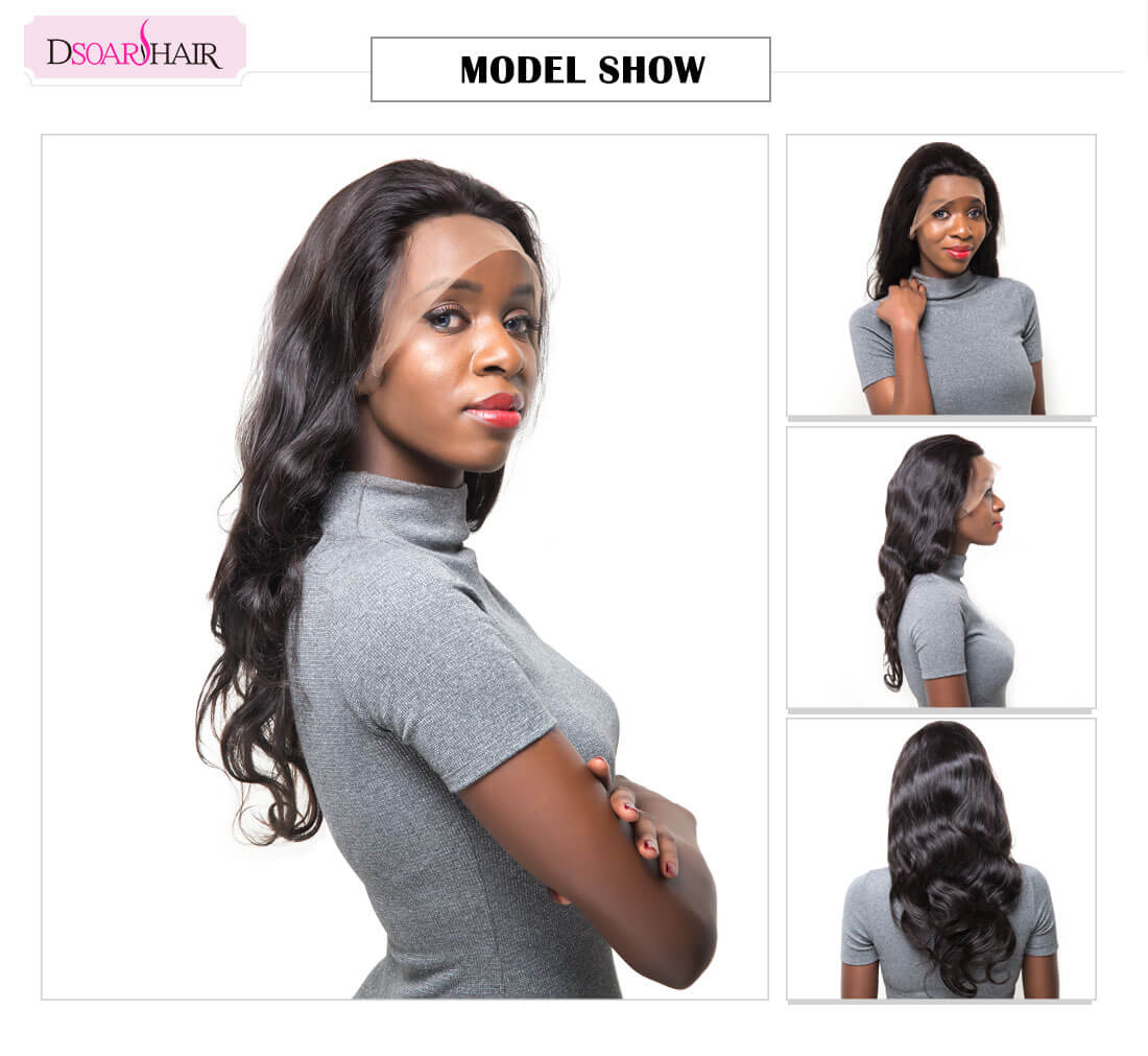 Body Wave Hand Tied Lace Front Wig