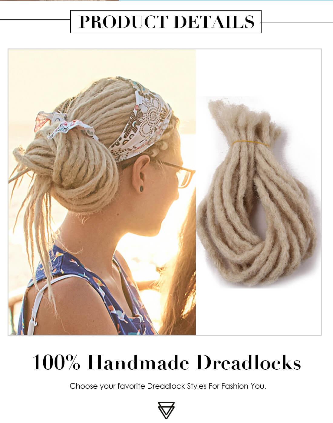 613 Blonde Dreads Styles Dreadlocks Extensions