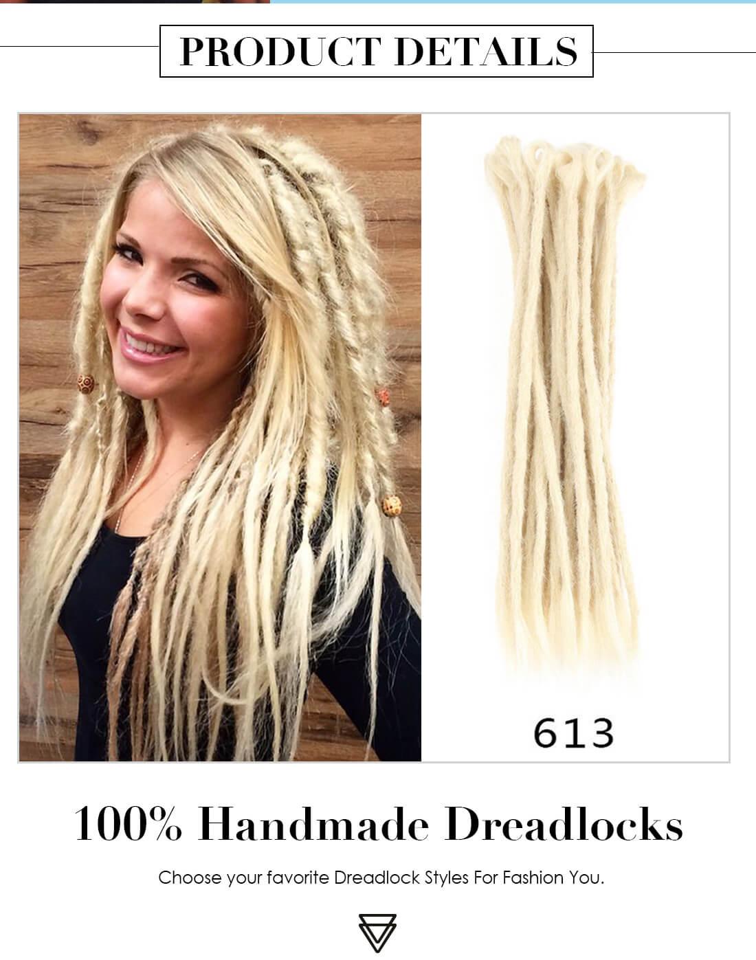 Crochet Braids With Synthetic Hair Dreadlocks