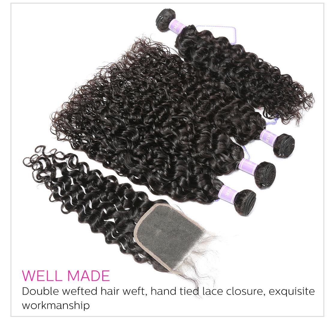 Natural Wave Hair Lace Closure