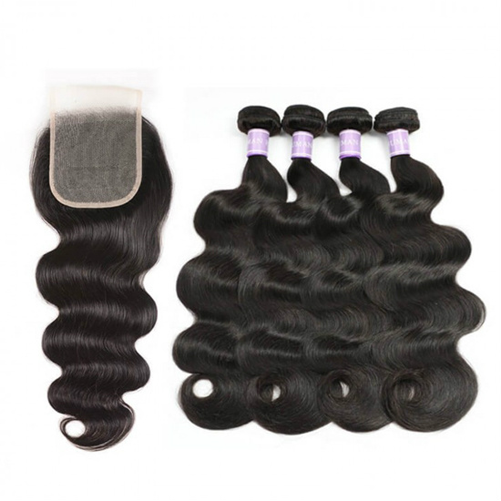 4 bundles with closure