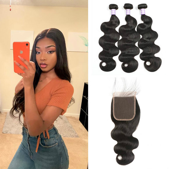 5x5 lace closure with bundles