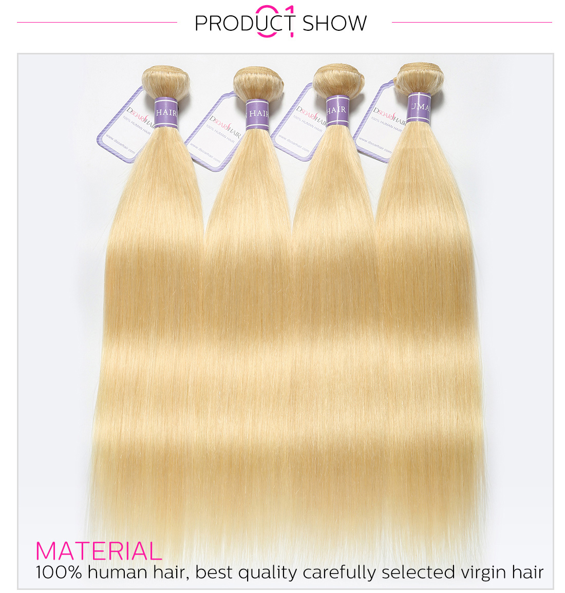 Straight Virgin Human Hair
