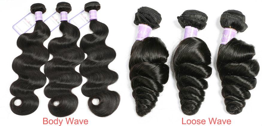 Body wave hair VS loose wave hair
